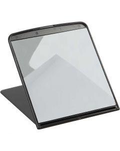 Speil, H: 18 cm, B: 16 cm, 1 stk.