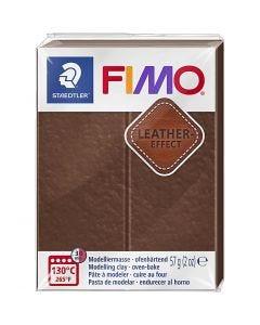 FIMO® Lær effekt, nut (779), 57 g/ 1 pk.