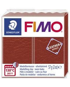 FIMO® Lær effekt, rust (749), 57 g/ 1 pk.
