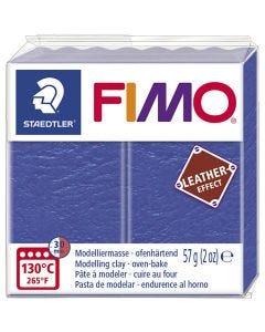 FIMO® Lær effekt, indigo (309), 57 g/ 1 pk.
