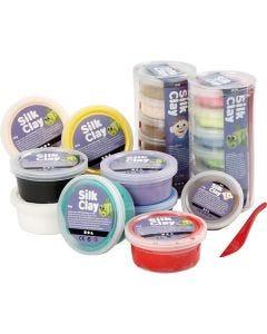 Silk Clay®, ass. farger, 22 boks/ 1 pk.