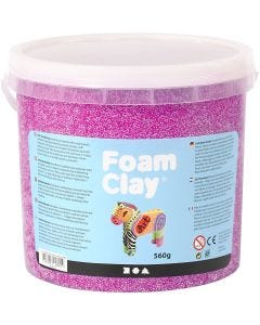 Foam Clay® , lilla neon, 560 g/ 1 spann