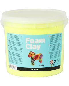 Foam Clay® , neon gul, 560 g/ 1 spann