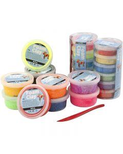 Foam Clay® , ass. farger, 22 boks/ 1 sett