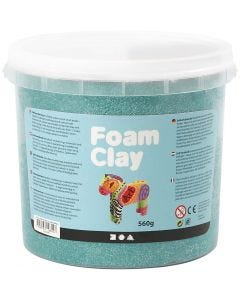 Foam Clay® , mørk grønn, 560 g/ 1 spann