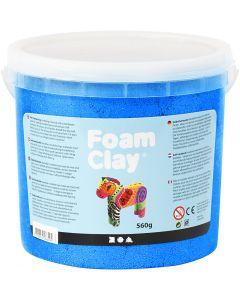 Foam Clay® , metallisk, blå, 560 g/ 1 spann