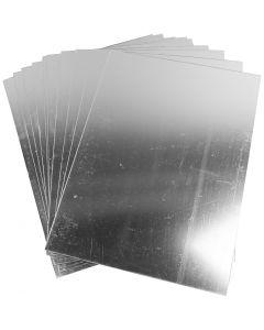 Speilplast, 29,5x21 cm, tykkelse 1,1 mm, 10 ark/ 1 pk.