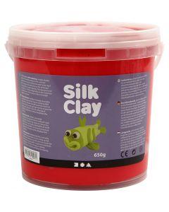 Silk Clay®, rød, 650 g/ 1 spann