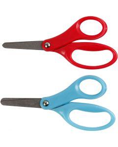 Barnesaks, L: 13 cm, høyre, blå, rød, 12 stk./ 1 pk.