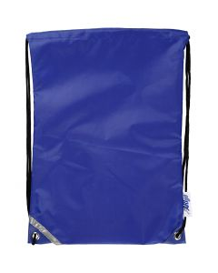 Ryggsekk, str. 31x44 cm, blå, 1 stk.