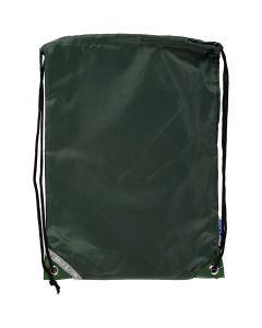 Ryggsekk, str. 31x44 cm, grønn, 1 stk.