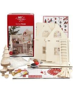 Materialsett til julenissehuset, 1 sett