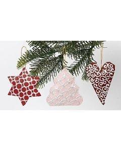 Juleoppheng av papp