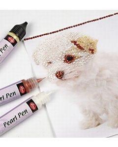 3D liner, pearl pen og clear marker