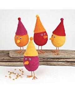 Filtede høns og fantasi-egg