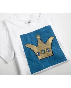 T-shirts med prinsessekroner