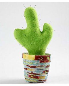 Kaktus i papirpotte