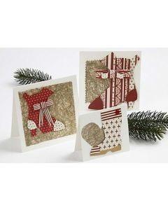 Kort med julesko