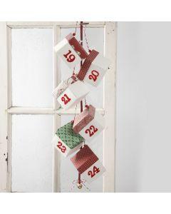 Julekalender med brett-selv esker