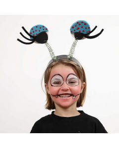 Hårbøyler med store øyne