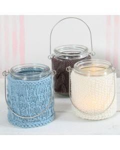 Lysglass med strikk