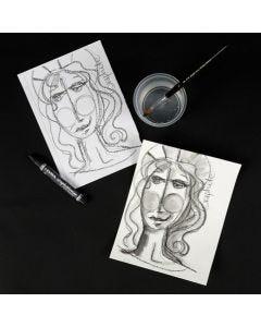 Lyra Grafitt akvarellstift
