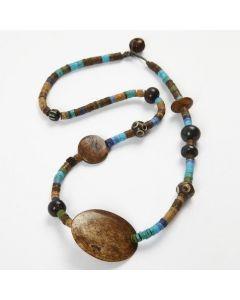 Halskjede med Indian Beads