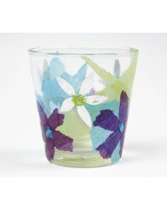 Silkepapir på glass