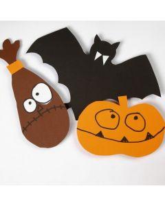 Sjablong til Halloweenmotiver