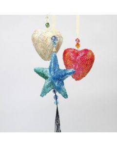 Isoporstjerner og -hjerter