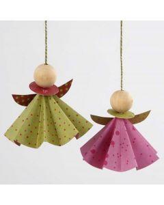 Engel av origamipapir fra Vivi Gade