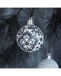 Julekuler med Paris decoupagepapir