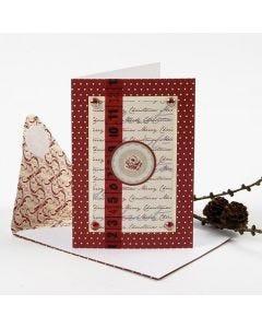 Julekort med designpynt fra Vivi Gade