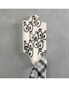 Stempeltrykk på knagg av terrakotta