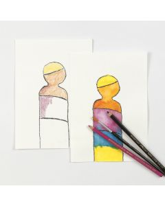 Akvarellblyanter i praksis