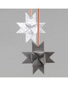 Splittring på flettet stjerne av papir i design fra Vivi Gade