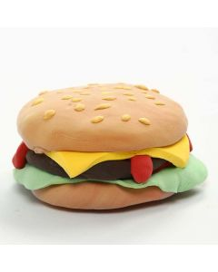 Magnet med burger av Silk Clay