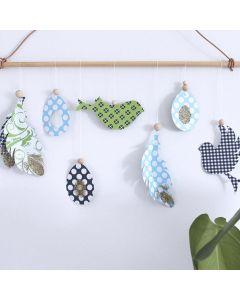 Klippede oppheng til vår og påske i design fra Vivi Gade