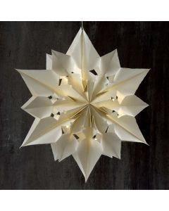 Stor og lysende stjerne av papirposer