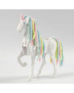 Hest forvandlet til enhjørning