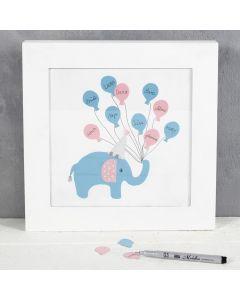 Gjeste bilde med elefanter