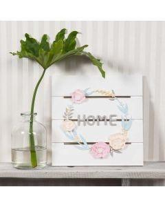 Blomster krans av Silk Clay og Silk Clay Creamy