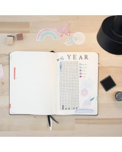 Stempler i bullet journal