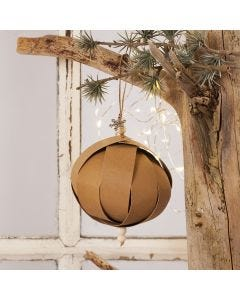 Julekule i lærpapir