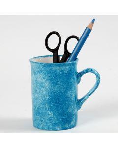 Duppeteknikk på porselen