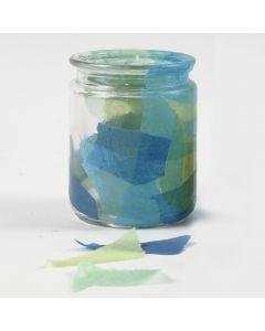 Decoupage på glass