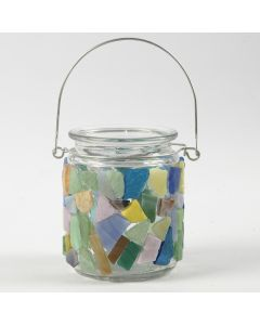 Mosaikk på glass