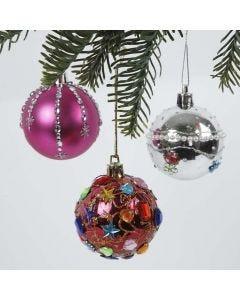 Plast julekuler