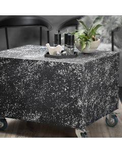 Pallepodie på hjul med terrazzo look