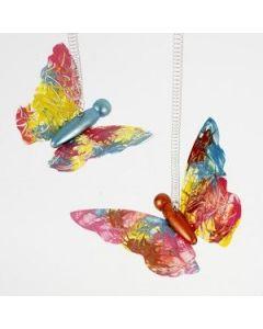 Dekorasjon av sommerfugler